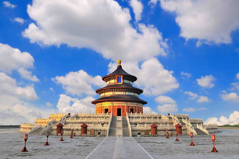 Hall of Prayer for Good Harvest or Qinian Dian on Qigu Altar of the Temple of Heaven