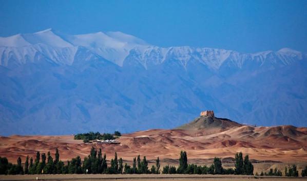 Ruins of Yangguan Pass in Gansu, Built in the Year 107 BC