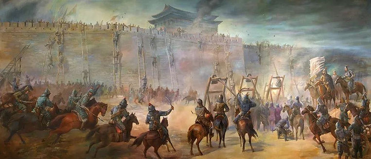 Yue Fei's North Expedition War in the Song Dynasty