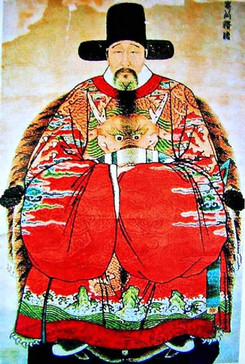 Minister Zhang Juzheng of Ming Dynasty in History of China