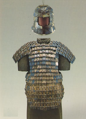 Unearthed Armour of the Qin Dynasty