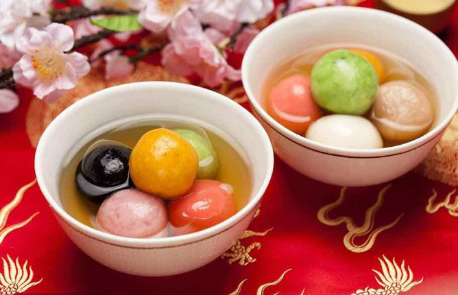 Glutinous Rice Ball, or Tangyuan