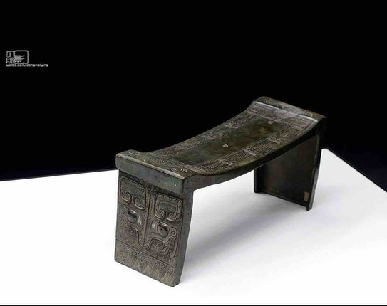 Bronze Board (Zu) to Place Sacrificial Offerings — Sen-oku Hakukokan Museum