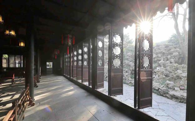 Hall of Five Peaks Deities or Wufeng Xianguan (五峰仙馆)