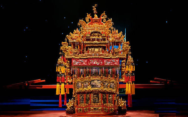Exquisite Bridal Sedan Chair of the late Qing Dynasty (1636 — 1912)