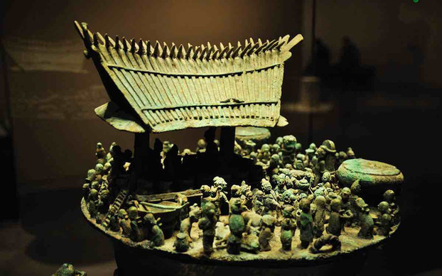 Unearthed Saving Box of Ancient Kingdom Dian — National Museum of China