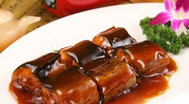 Stewed River Eel
