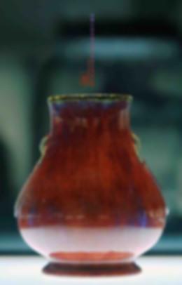 Kiln Transformed Glaze Wine Container (Zun) Produced Under Yongzheng Emperor's Reign