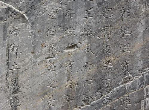Part of the Longmen Stele Written by Emperor Zhenzong of Song.