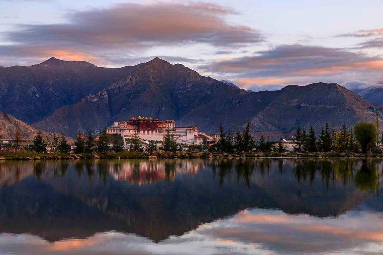 Potala Palace in Lhasa, the Tibet Autonomous Region of China