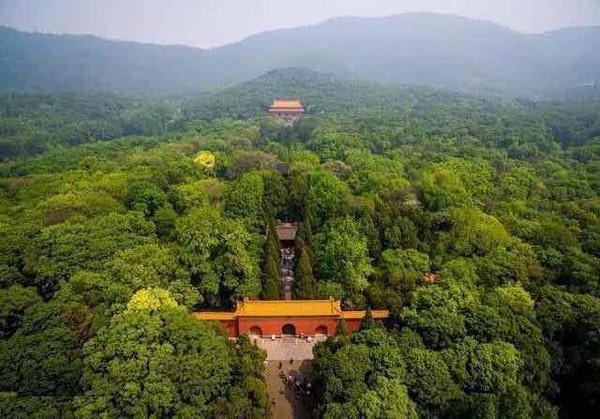 The Mausoleum of Emperor Zhu Yuanzhang and His Empress Ma — Ming Xiao Ling in Nanjing City