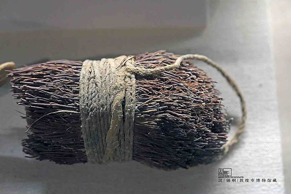 Scourer of the Han Dynasty Unearthed from Yumen Pass Remains