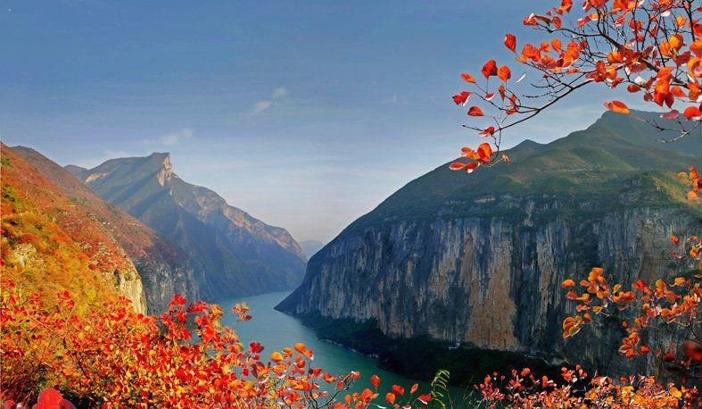Three Gorges of Changjiang River