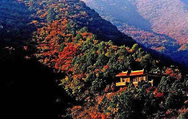 Guye Mountain in Linfen City of Shanxi Province that King Yao had Lived.