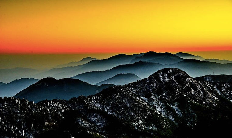 Mount Heng in Hunan of China
