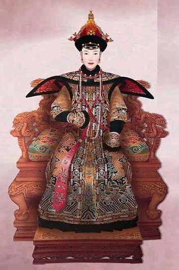 Portrait of Imperial Consort Dong of Shunzhi Emperor