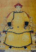 Emperor Fu Lin or Qing Shi Zu or Shun Zhi of Qing Dynasty in History of China