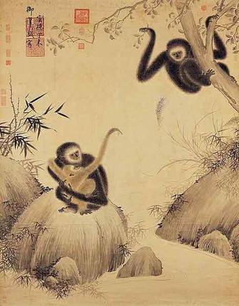 Playful Apes (Xi Yuan Tu) — Taipei Palace Museum