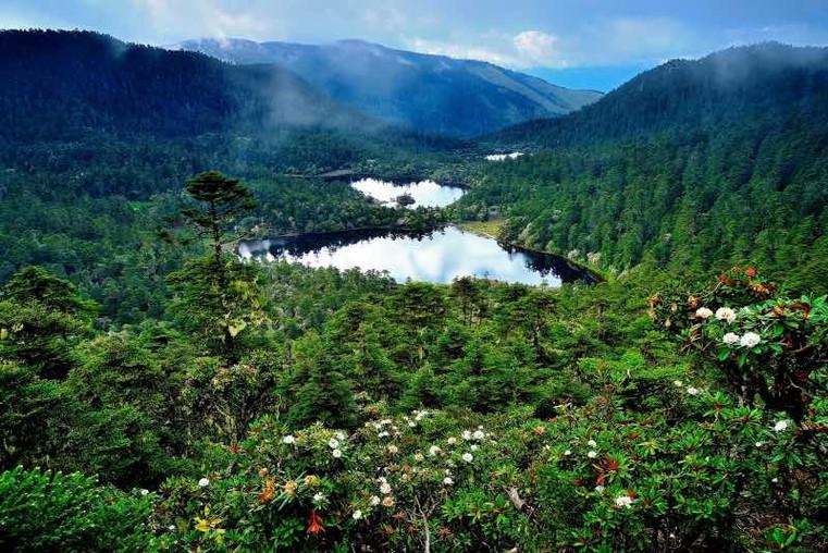 Ninety-nine Dragon Ponds or Jiushijiu Longtan