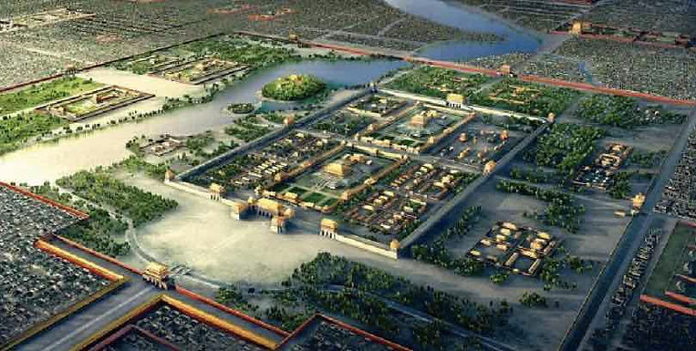 Restoration Map of Capital City of the Yuan Dynasty