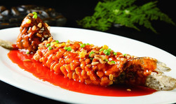Sweet and Sour Fried Croacker