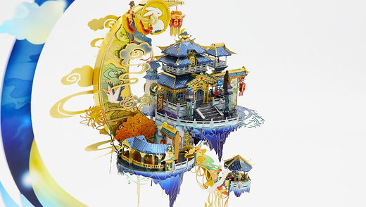 Moon Palace or Guanghan Gong 3D Puzzle Model