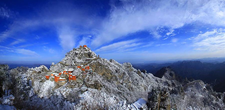 Taoist Temples in Mount Wudang that was Constructed Under Command of Yongle Emperor Zhu Di