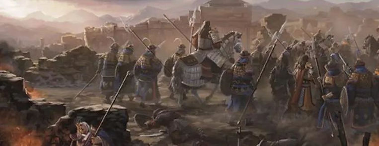 The Battle Defending Beijing City in Ming Dynasty