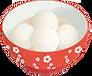 Glue puddling / Sweet dumpling for Lantern Festival