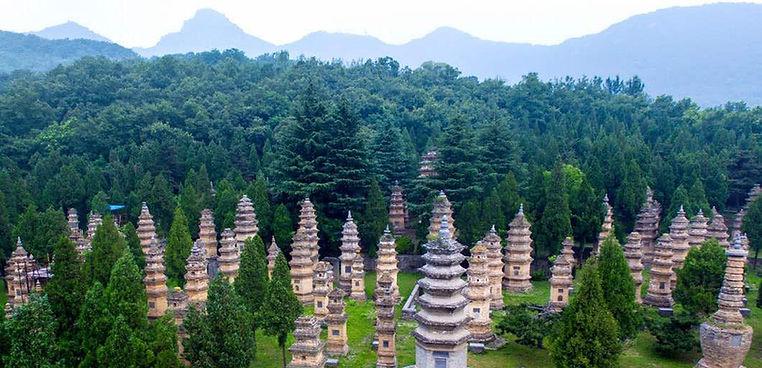 Stupas Forest of Shaolin Temple