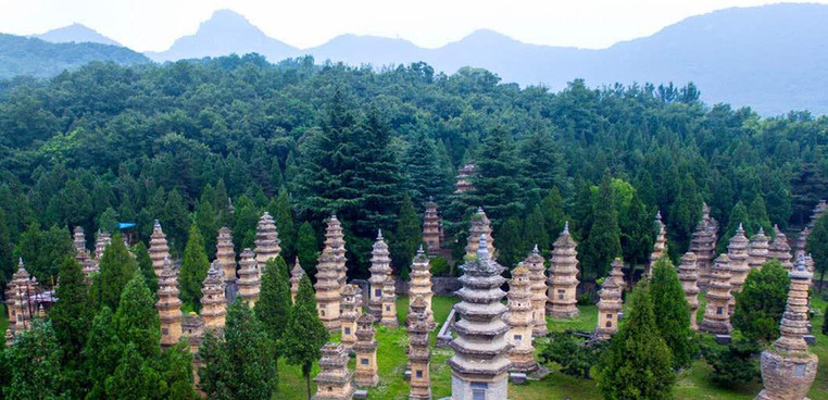 Stupas Forest of Shaolin Temple