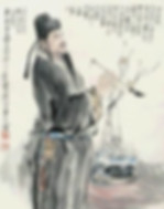 General and Calligrapher Yan Zhenqing of Tang Dynasty in History of China