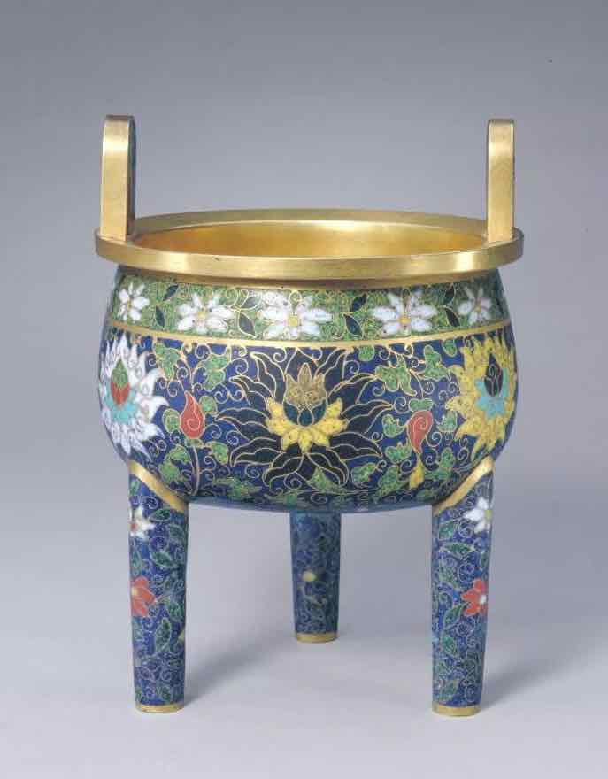Cloisonne Censer of the Yuan Dynasty — The Palace Museum