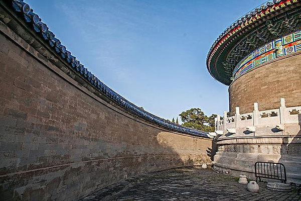 Part of Echo Wall of the Temple of Heaven