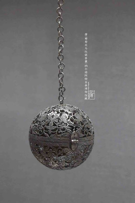 Silver Sachet of the Tang Dynasty (618 — 907) — Nelson-Atkins Museum of Art (Photo by Dongmaiying)