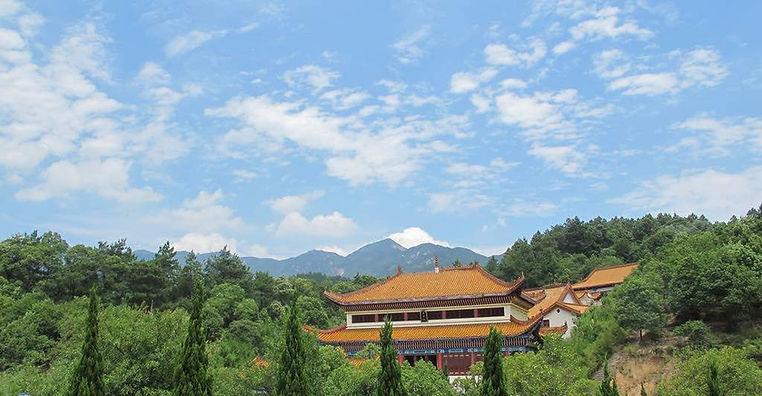 Nanyue Temple of Mount Heng in Hunan