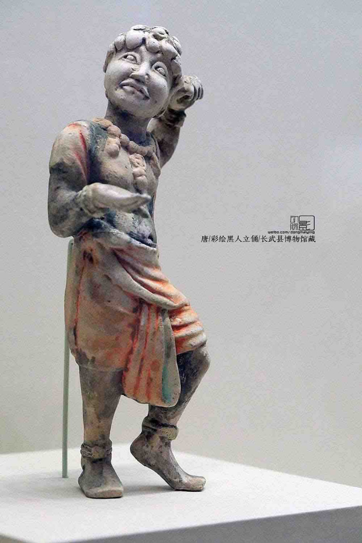 Painted Pottery of A Foreigner in the Tang Dynasty — Changwu Museum