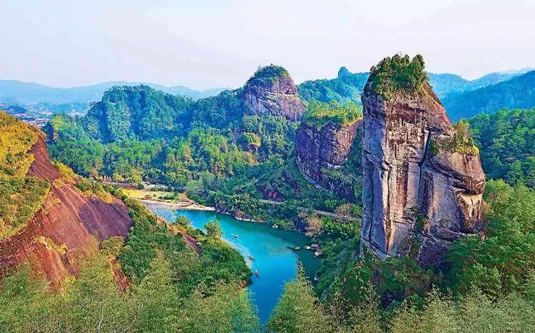Peaks and Danxia Landform of Mount Wuyi