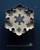 Unearthed Tri-coloured Glazed Pottery Plate (Tang San Cai) of the Tang Dynasty — Asian Art Museum of San Francisco