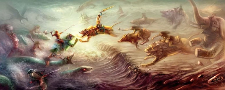 Battle of Zhuolu in Chinese Mythical History