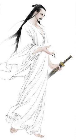 Poet Li Bai of Tang Dynasty in History of China