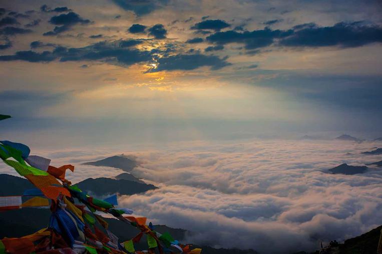 Cloud Sea of Mount Wutai