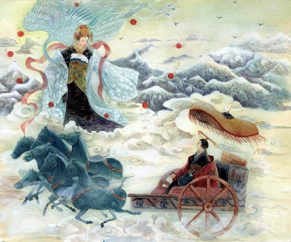 Xi Wangmu from Mount Kunlun and Ji Man the King Mu of Zhou