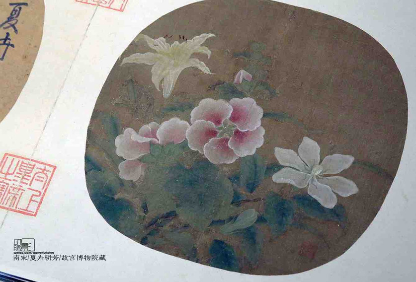 Flower Silk Painting of the Southern Song Dynasty — The Palace Museum