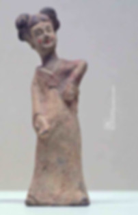 Painted Dancing Pottery Figurine of Northern Wei