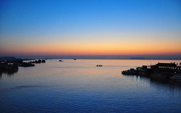 Dongting Lake in Hunan Province
