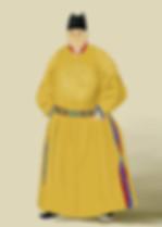 Emperor Zhu Yuan Zhang or Hong Wu of Ming Dynasty in History of China