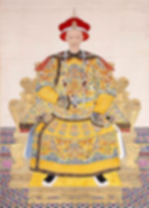 Portrait of Daoguang Emperor, By Court Artist of the Qing Dynasty