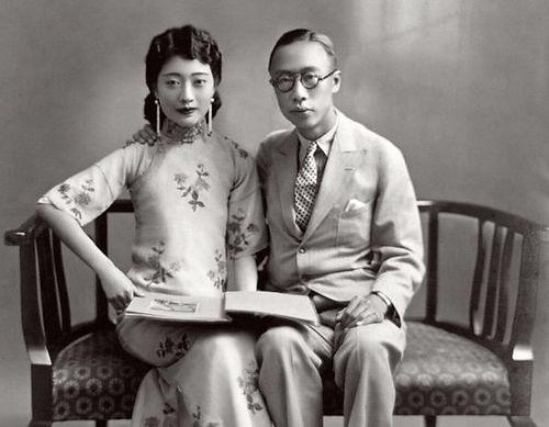 Puyi and Wanrong