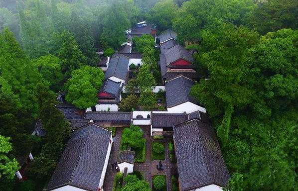 White Deer Grotto Academy in Mount Lu, Firstly Built in 940, Great Philosopher Zhu Xi Reconstructed and Taught there.